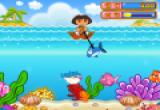 العاب دورا وصيد الاسماك