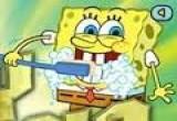 العاب تنظيف الاسنان سبونج بوب