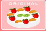 العاب طبخ كيك بالكريمة والفراولة