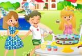 لعبة ترتيب واعداد حفلة الشواء مع الاصدقاء
