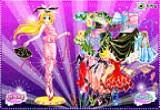 لعبة تلبيس ملابس الرقص للفتاة الراقصة