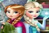العاب بنات ملكة الثلج الرائعة