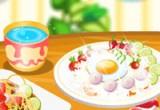 لعبة اعداد وجبة الغذاء اللذيذة