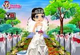 لعبة تلبيس العروس فى حفل زفافها