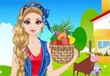 لعبة  باربى فى الريف