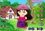 لعبة تلبيس دورا ملابس الربيع 2014