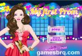 لعبة تلبيس ملابس الحفلة الراقية