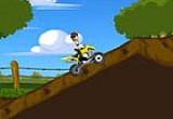 لعبة دراجة بن تن السريعة 2014
