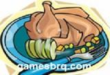 لعبة طبخ الدجاج المشوى