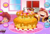 لعبة طبخ كيك العيد ميلاد 2014