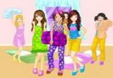 لعبة ارتداء البنات الملابس الناعمة