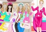 لعبة تلبيس باربي ملابس عيد الفطر