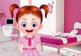 لعبة ديكور غرفة نوم الطفلة