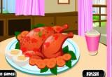 لعبة طبخ الدجاج بالخضار