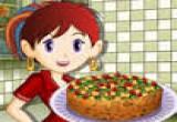 العاب سارة وكعكة الفواكه
