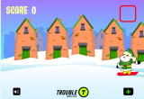 لعبة سانتا والثلج