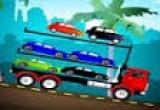 لعبة شاحنة نقل السيارات العاب فلاش برق