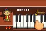 لعبة التعلم مع الدبدوب العزف  البيانو