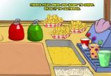 لعبة سبونج بوب وطلبات زبائن المطعم