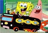 لعبة سبونج بوب سباق سيارات قيادة الحافلة