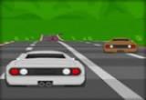 لعبة سباق سيارات رياضية