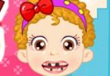 العاب فحص أسنان الطفل بيبي هازل