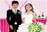 العاب تلبيس العروسة والعريس