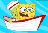 لعبة قارب سبونج بوب الصغير