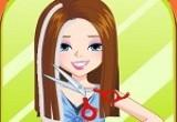 لعبة قص شعر الفتاة السعيدة