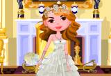 لعبة تلبيس العروس فستان الزفاف