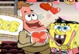 لعبة سبونج بوب وعيد الحب
