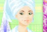 لعبة علاج حب الشباب وتنظيف بشرة العروس الاميرة البنات