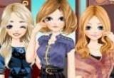 لعبة تلبيس ثلاث بنات فلاش برق