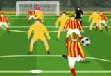 العاب كرة قدم في الملعب