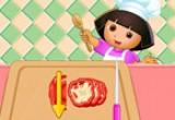 لعبة طبخ بيتزا دورا 2016