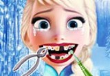 العاب علاج أسنان إلسا عند الطبيب