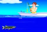 لعبة صيد السمك فلاش برق