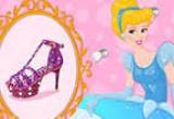 -العاب تصميم حذاء سندريلا الجميلة