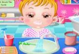 العاب اطفال غسيل الاسنان