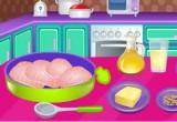 لعبة طبخ الدجاج وتنظيفه