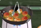 لعبة طبخ كرات اللحمة