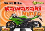 لعبة دراجة النينجا
