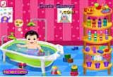 لعبة الاهتمام بالطفل الرضيع