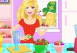 لعبة زراعة الفراولة واعداد العصير