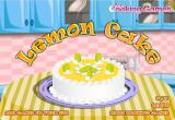 لعبة كعكة الليمون