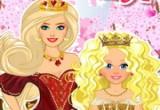 لعبة تلبيس الملكة وابنتها الجميلة