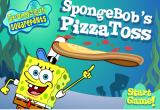 لعبة سبونج بوب موزع البيتزا