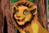 لعبة تلبيس الاسد ملك الغابة