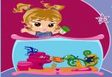 لعبة حوض سمك الاطفال