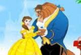 لعبة تلوين الأميرة والوحش